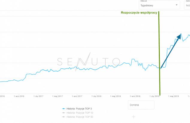 widoczność top 3 motoryzacja e-commerce