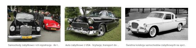 google images - samochody zabytkowe