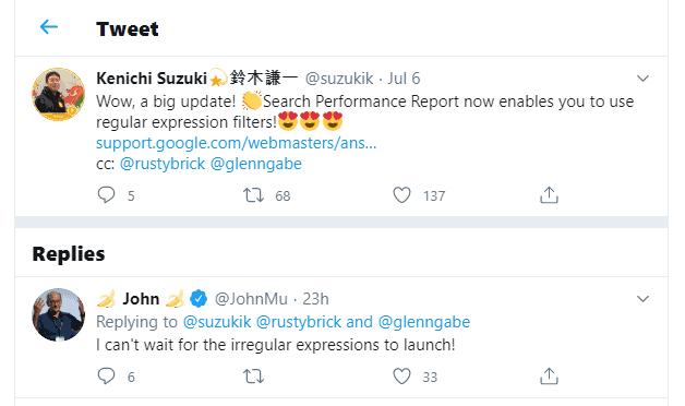 wyrazenia regularne - twitter