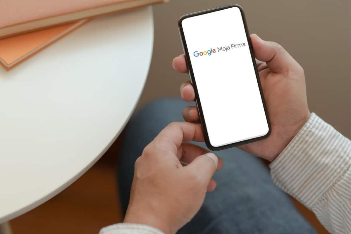 google moja firma na telefonie