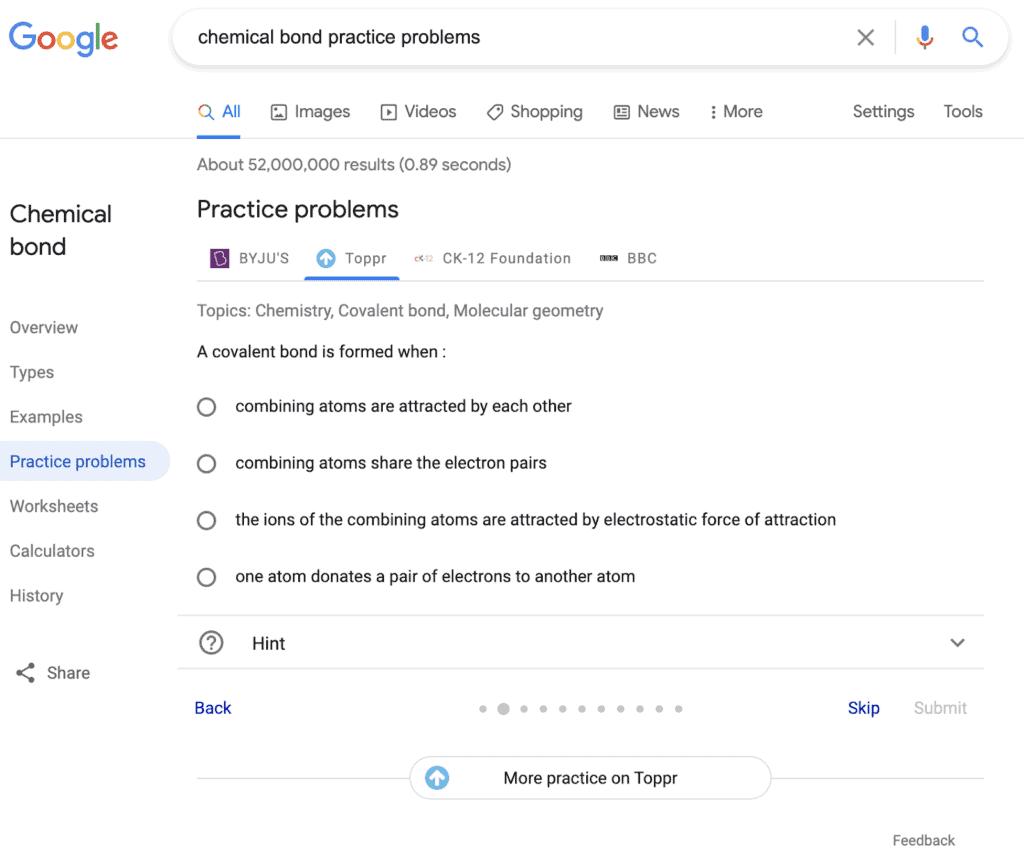 google-practice-problems